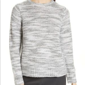 Eileen Fisher Merino Wool & Silk Sweater: Size L